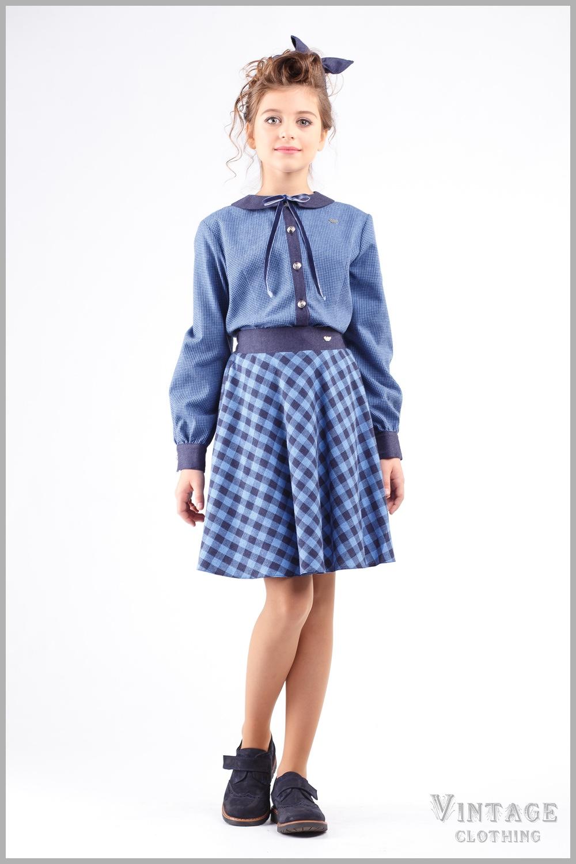 Блузка и юбка комплект