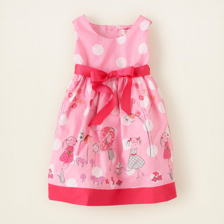 Летнее платье детское фото