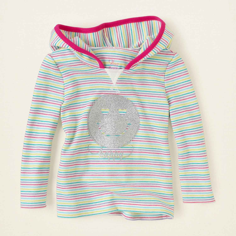 Реглан детский хлопковый для девочки Children's Place (США) striped thermal возраст 2-4 года