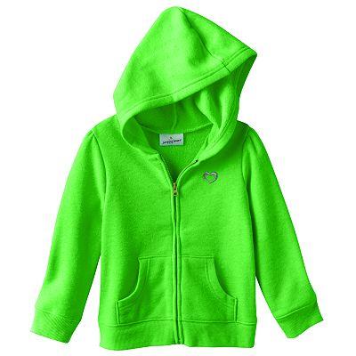 Кофта-худи детская для девочки Jumping Beans (США) Solid Fleece возраст 4-5 лет