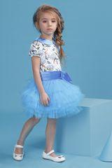 Комплект блуза и юбка 4048-1 рост 98-128см
