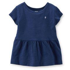 Туніка дитяча бавовняна для дівчинки Carter's (США) Jersey Peplum Tee вік 5-6 років