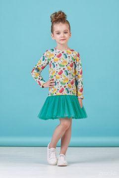 Плаття для дівчинки 38-8016-1зріст 98-128 см 4661f20479f4c
